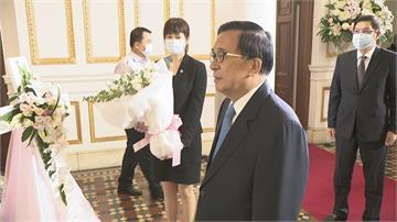 扁徹夜難眠 感激李前總統對台灣國家付出