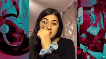 快新聞/邊教美妝邊談新疆集中營 美國少女影片急遭抖音下架