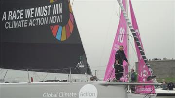 搭太陽能帆船橫越大西洋 瑞典環保少女抵達紐約