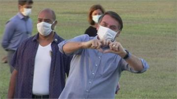 波索納洛檢測報告「轉陰」 立刻脫口罩和支持者玩自拍