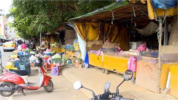 第一果菜市場攤商抗議市府強行拆除 市場處:去年9月已通知