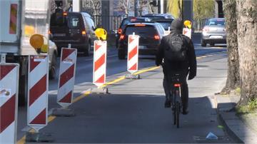 自行車也有社交距離!德國柏林加寬2倍自行車道幫騎士抗疫