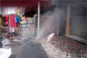 台南瓦斯公司挖斷管線 消防急噴水防氣爆