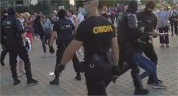 不滿總統疑選舉不公 白俄羅斯爆發激烈示威衝突