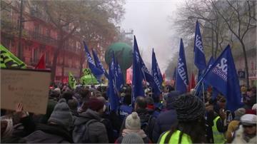 法國大罷工第二天交通全癱瘓!總理堅持改革非做不可