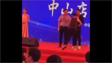港星任達華中國被刺 男子喬裝粉絲拿刀猛刺