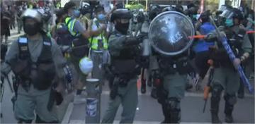 香港6.28靜默遊行 50多人遭警方帶走