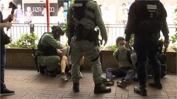 港區國安法上路掀暴亂 警民衝突逮逾300人