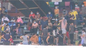 1200名異鄉人困馬尼拉棒球場!疫情席捲菲律賓 杜特蒂盼首波施打疫苗
