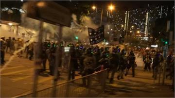 「反送中」游擊式抗爭 香港多處爆警民衝突