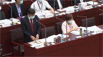 楊明州議會備詢 市政問題游刃有餘