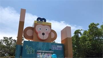 宜蘭羅東藝穗節 推巨型「猴」扭蛋機吸客