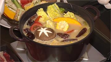 白湯麻辣鍋見過嗎?!石斑熬出乳白魚湯