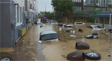 南韓遭暴雨襲擊災情慘 昨天至少5死8失蹤