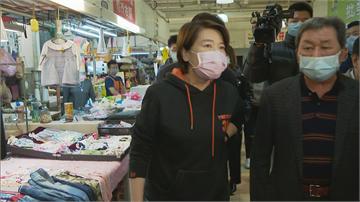 快新聞/公有市場強制戴口罩無罰則 黃珊珊:與中央商討取締人力與經費