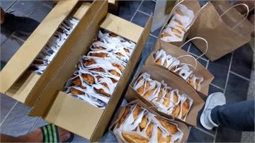 慶祝林國慶落選!網路紅人小商人兩天發450份雞排