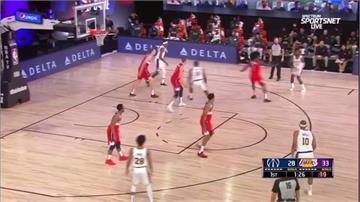 NBA/詹姆斯、戴維斯輪休 神經刀狂轟20分率領湖人獲勝