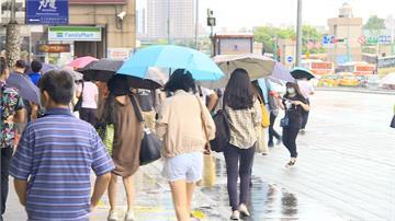 又濕又熱!今越晚雨越大 週二起全台高溫31度以上