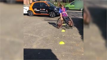 別被疫情打倒!身障選手居家訓練 展現運動熱忱