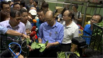 韓國瑜視察農損 農民:市長只想選總統