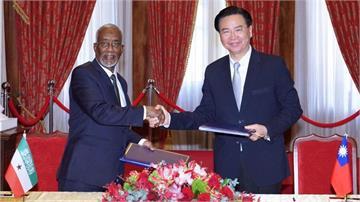 快新聞/索馬利蘭代表抵台讚「兩國關係穩固」 吳釗燮:主權和友誼是非賣品