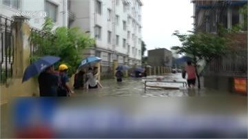 暴雨猛灌!三峽大壩岌岌可危 洪水直逼上海