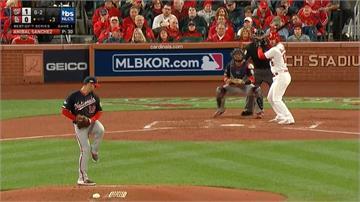 MLB/國民2:0紅雀!奪國聯冠軍戰第一勝