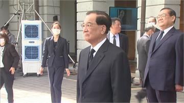 快新聞/連戰親赴弔唁 肯定李登輝對台灣民主發展貢獻