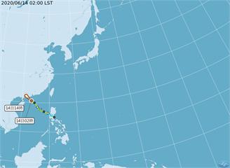 [2020/06/14]鸚鵡遠離!花東、南部防短陣雨 全台午後防雷陣雨