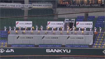 軟銀鷹超整齊啦啦隊!機器人、機器狗載歌載舞