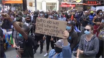 美國示威遍地開花 專家憂疫情恐再爆發