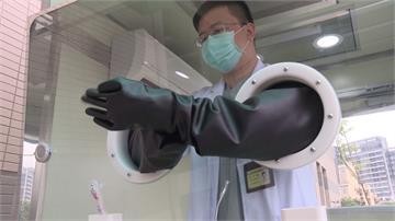工研院打造正壓式檢疫亭 採檢過程安全有效率