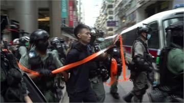 港區國安法再現動盪 疑七一遊行刺警男今晨落網