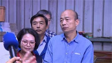 在韓國瑜勘災前公布農損救助 中央照顧農民動作更快