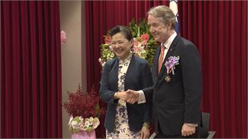 當台灣女婿又任駐台代表!荷蘭代表紀維德將轉調:一定常回來