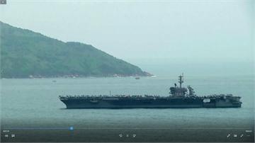 美航艦羅斯福號確診近百 千人撤離至關島