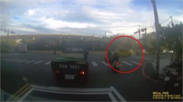汽車闖紅燈攔腰撞 八旬騎士傷重不治