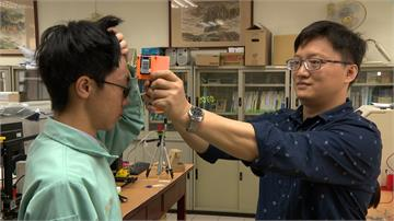 防疫實踐課程!台中高工自製額溫槍有助初步篩檢