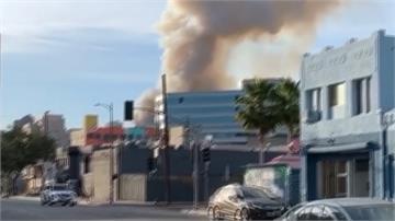 洛杉磯大麻提煉油廠大火 11名消防員灼傷送醫