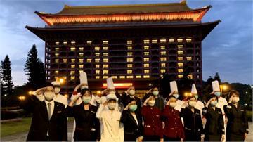 台灣超前部署 圓山和101點燈向抗疫英雄致敬