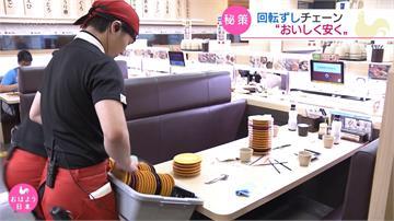 日本迴轉壽司超創新 攝影機自動計盤、魚自己養