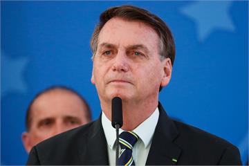 快新聞/巴西總統自爆染上武肺 目前正接受篩檢中