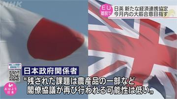 日外務大臣訪英談貿易協定  8月談妥大致內容趕明年生效
