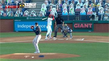 MLB/三分砲外加滿貫彈 費城人轟贏勇士隊