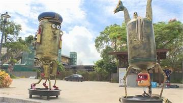 富岡鐵道藝術節8/14登場 黑手藝術家巧手讓「廢鐵再生」