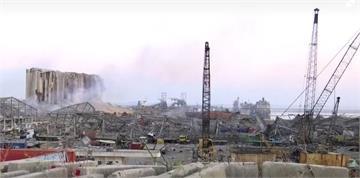 快新聞/黎巴嫩驚天爆炸「蘑菇雲」直竄天際 200公里外城市都感受劇烈搖晃