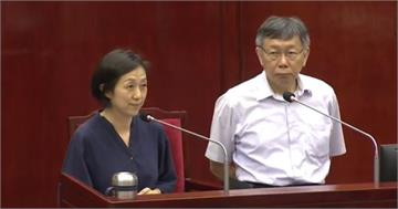 快新聞/北流董事長黃韻玲登備詢台 謹慎應對質詢...感謝有機會多學習