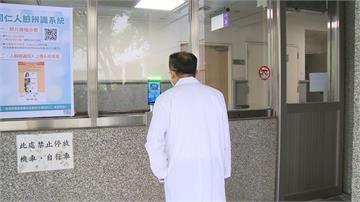刷臉量體溫開門 大林慈濟醫院啟動人臉辨識