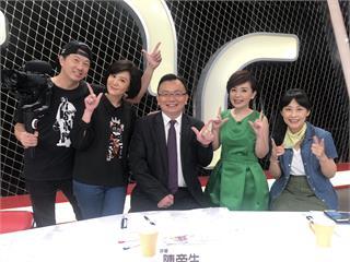 文汶以創業者身分擔任《新創777》節目評審! 老公吳皓昇帶著攝影裝備愛相隨