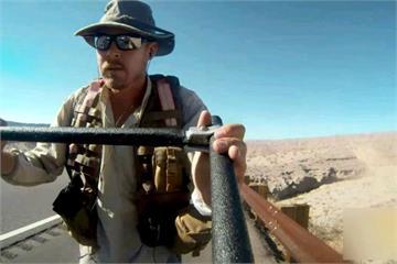 18年走32000公里 英國男徒步環遊世界